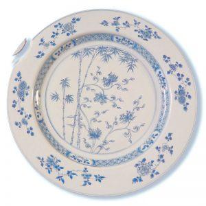 Plat porcelaine de Chine